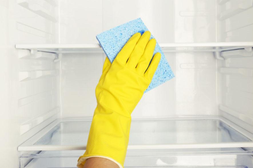 Как помыть и очистить холодильник внутри